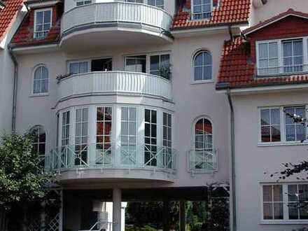 2 Zi.-Seniorenwohnung mit Balkon im Zentrum von Adendorf/Ratsdomizil