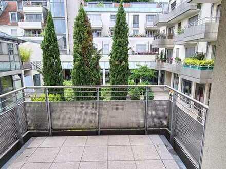 2-ZW mit Balkon an der alten Mainbrücke - Wohnanlage am Spitäle!!