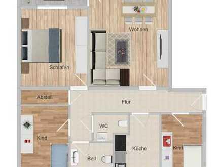 Gepflegte 4-Zimmer-Wohnung nahe Mainufer