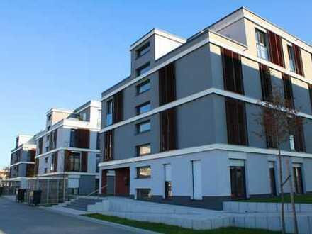 2-Zi, Riedberg, Balkon mit Wintergarten