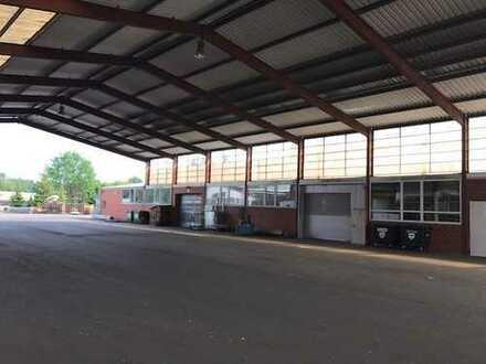 Produktions- und Lagerhalle direkt an der A30 Kanalhafen, neues Dach