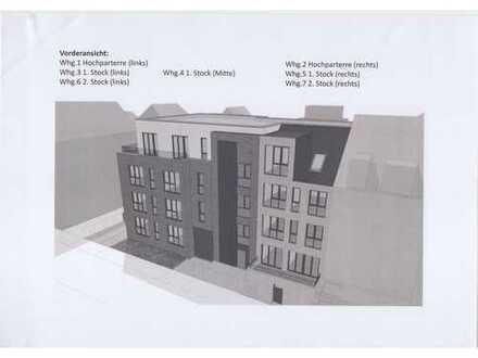4-Zimmer-Hochparterre-Wohnung in Bremen, Erstbezug mit Einbauküche, Balkon und Garten