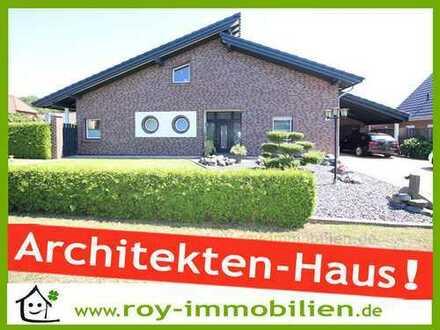 +++ Architekten-Haus, neuwertig, ebenerdig bewohnbar, hochwertige EBK u. Specksteinkamin inkl. ! +++