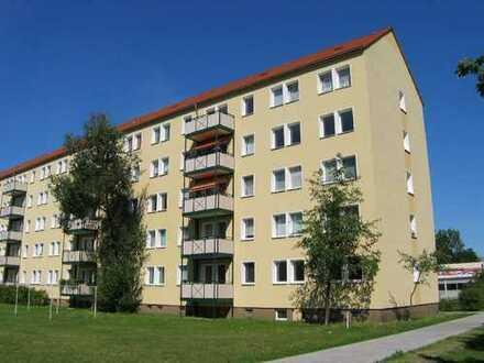 Einzugsfertige 4 Raum- Wohnung mit Balkon und Aufzug in Sandersdorf