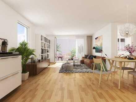 4-Zi.-Wohnung mit optimalem Grundriss + Balkon vor den Toren Frankfurts ***Erstbezug***