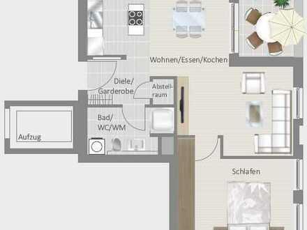 Schicke 2,5-Zimmer-Wohnung - ideal für Singles und Senioren!
