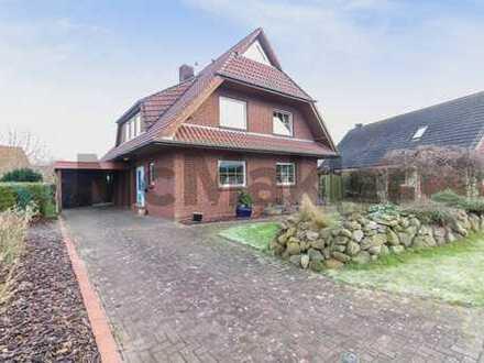 Familientraum in Nordseenähe: Modernes Einfamilienhaus mit ruhigem Südwest-Grundstück