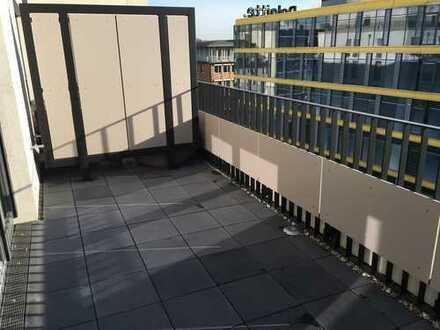 Nachmieter für 2-Zimmer-Wohnung mit großem Balkon und Einbauküche in Düsseldorf gesucht
