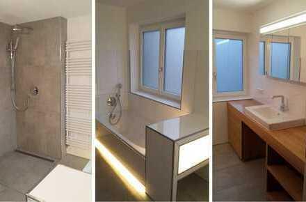 3 Zimmer / 94 qm Wohnung in Schorndorf, Erstbezug, Teilmöbliert