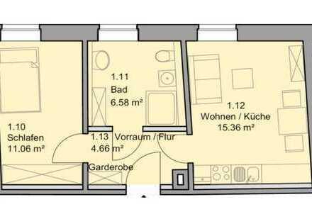 Moderne 2-Raumwohnung/Singlewohnung im Stadtzentrum ***Voll saniert***