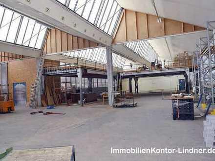 Halle, Logistik, Lager, Produktion in Autobahnnähe