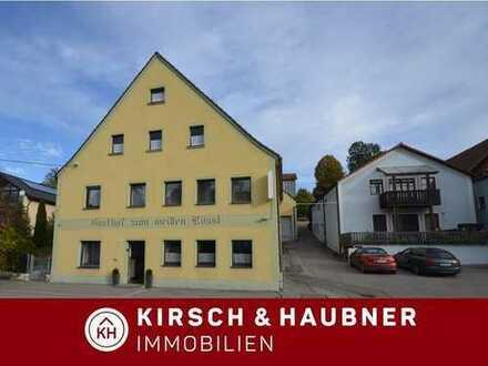 Starke Gelegenheit für den Unternehmer! Pension + Gaststätte + Ferienwohnung + 2-Familienhaus, ...