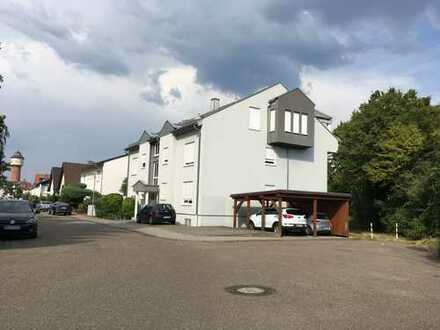 Plankstadt: sehr helle 2 Zimmer Dachgeschosswohnung in ruhiger Feldrandlage
