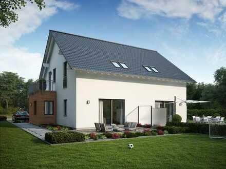 Werden Sie Vermieter im eigenen Heim - Bauen Sie ein Doppelhaus