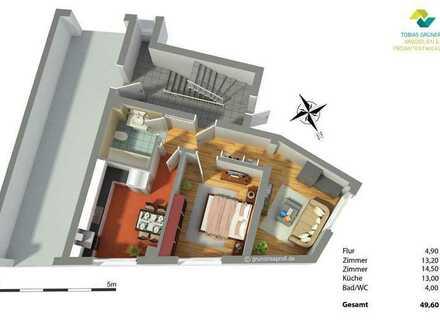 Tobias Grünert Immobilien # vermietete 2-Zimmer Wohnung zur Kapitalanlage