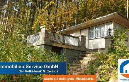 - 2. Reihe - Wochenendhaus mit großem Grundstück an der Talsperre Kriebstein