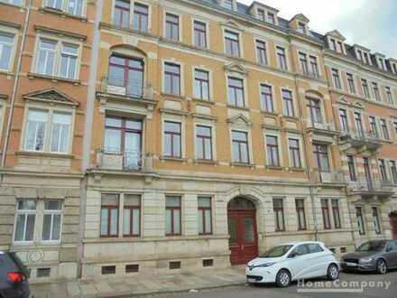 Ruhige 2-Zimmer Wohnung mit 2 Balkonen und Aufzug in Dresden - Friedrichstadt