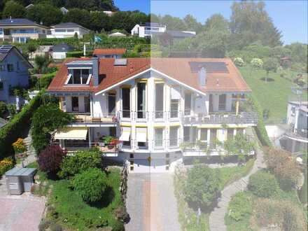 Extravagantes Anwesen mit See- und Bergblick