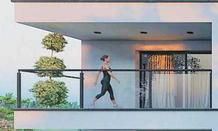 3-Zimmer Wohnung mit großem Balkon!