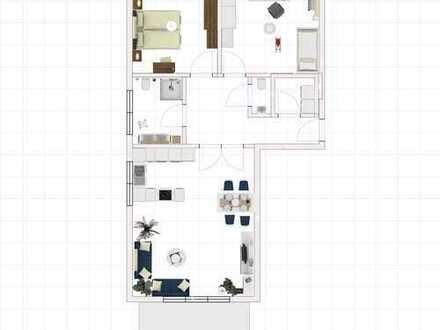 Neubau , 98,45 qm 1.OG Wohnung (6) mit Balkon in Laer