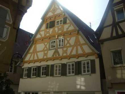 Außergewöhnliche Wohnung im Fachwerkhaus, mitten in historischer Altstadt von Herrenberg