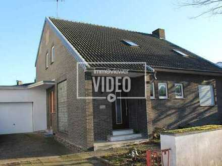 Vorst + Freihstehende Einfamilienhaus + 136 m² Wohnfläche 733 m² Grundstück + 1963 + Garage