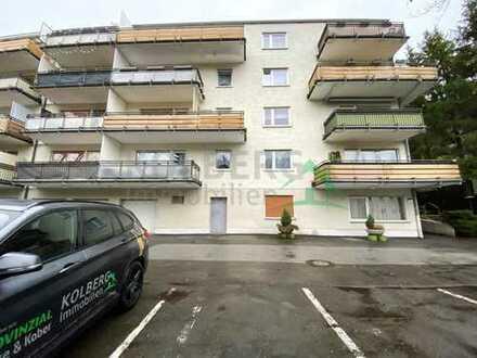 Kleine Eigentumswohnung mit Balkon und Schwimmbadnutzung