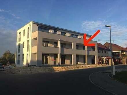 Erstbezug: exklusive 3,5-Zimmer-Wohnung mit EBK und Balkon in Dürnau