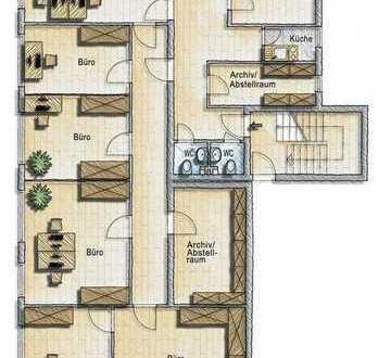 Helle 172 m² Büro-/ Gewerberäume mit vielseitigen Nutzungsmöglichkeiten, in Bad Honnef-Selhof