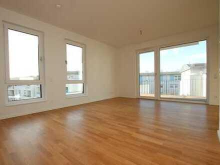 Helle 2-Zimmer-Wohnung im Neubau mit EBK und Balkon