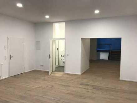WOHNEN UND ARBEITEN IN LOFT-ähnlicher Erdgeschosswohnung mit ca. 140qm und 3,5 Zimmer