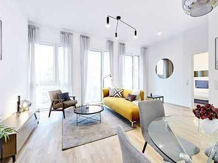 3 Zimmerwohnung mit großer Terrasse und Gartenanteil, KFW gefördert und provisionsfrei