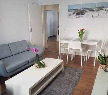 Geschmackvolle Wohnung mit zwei Zimmern in Frankfurt am main