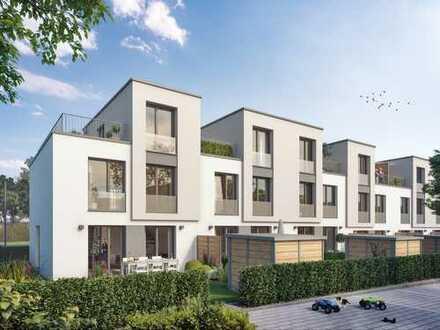 Auf hohem Niveau! Schlüsselfertiges Reihenhaus mit 3 Wohnetagen + Garten in sympathischer Umgebung
