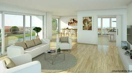 Top geschnittene 3-Zimmer-Wohnung mit großer Loggia mitten in der City