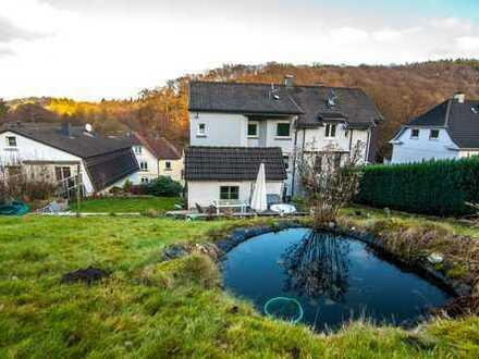 Renovierte Wohnung im Naturparadies mit tollem Ausblick und riesigem Garten