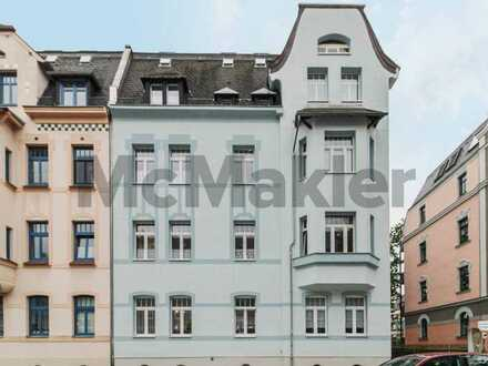 Gepflegte 3-Zi.-ETW mit Balkon und Pkw-Stellplatz in Zwickau-Pölbitz
