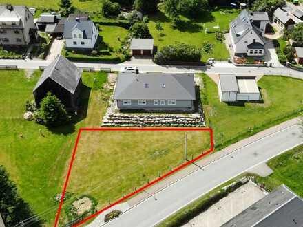 !! PREISSENKUNG !! Schönes, sonniges Baugrundstück (~750 m²) in Elterlein