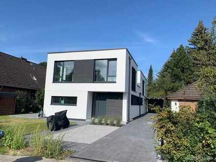 Sasel -Moderne Doppelhaushälfte (projektiert) in zentraler Lage