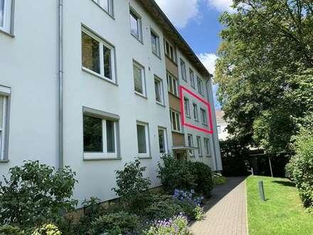 Helle und geräumige 3 Zimmer-Eigentumswohnung mit Garage in St.-Magnus sucht neuen Eigentümer