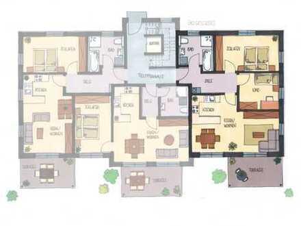 Helle 3-Zimmer-Wohnung im EG