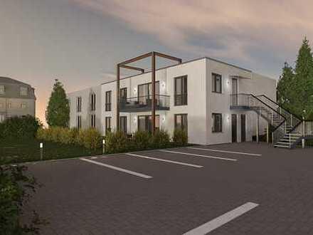 **Leben an der Elbe** Erstbezug im Neubau, 4-Raum-Wohnung mit Terrasse und Gartenbenutzung