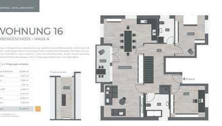 ZENTRAL. GRÜN. LEBENSWERT LANDSHUT 034 Haus A Nr.16 - 3.Obergeschoss 4-Zimmer
