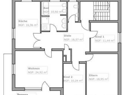 Erstbezug nach Sanierung mit Terrasse: schöne, helle 4-Zimmer-EG-Wohnung in Tegernheim