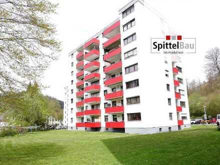 2-Zimmer Wohnung mit schönem Süd-West-Balkon als Kapitalanlage mit Potential!