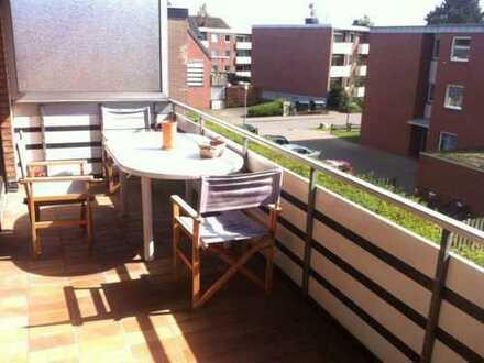 Schöne 3-Zimmer-Wohnung mit Balkon und Einbauküche in Oldenburg