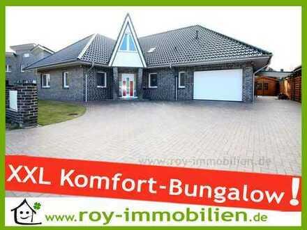 +++ Neuwertiger Komfort-Bungalow, DG teilausgebaut, Wintergarten, hochwertige EBK inkl. ! +++