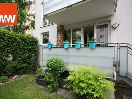 Traumhafte Kapitalanlage - Vermietete 3 Zimmer Hochparterre Wohnung mit Gartenanteil in München Send