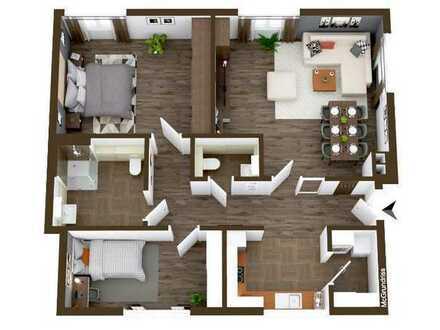 Barrierefreie 3,5 Zimmer Wohnung in Dusslingen mit PKW-Stellplatz