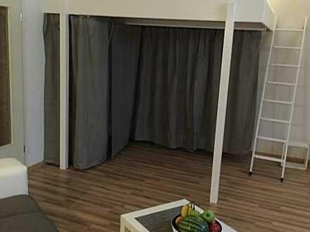 Gepflegte 2-Zimmer-Hochparterre-Wohnung mit Einbauküche in Schwerin Meckl.
